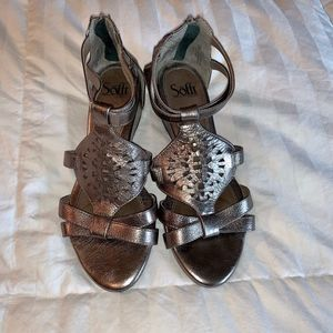 Sofft  - Bronze Sandals - sz 8.5 wide